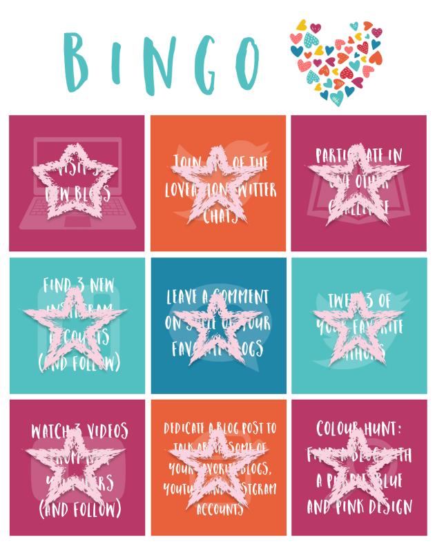 Loveathon bingo_stars